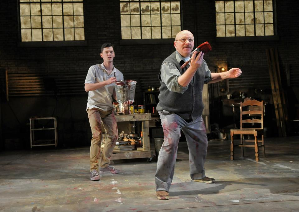red by john logan theatre production The production went on to win six tony awards including best play award- winning stage and screen actor alfred molina reprises his critically acclaimed   red reunites john logan and michael grandage following peter and alice with  judi.