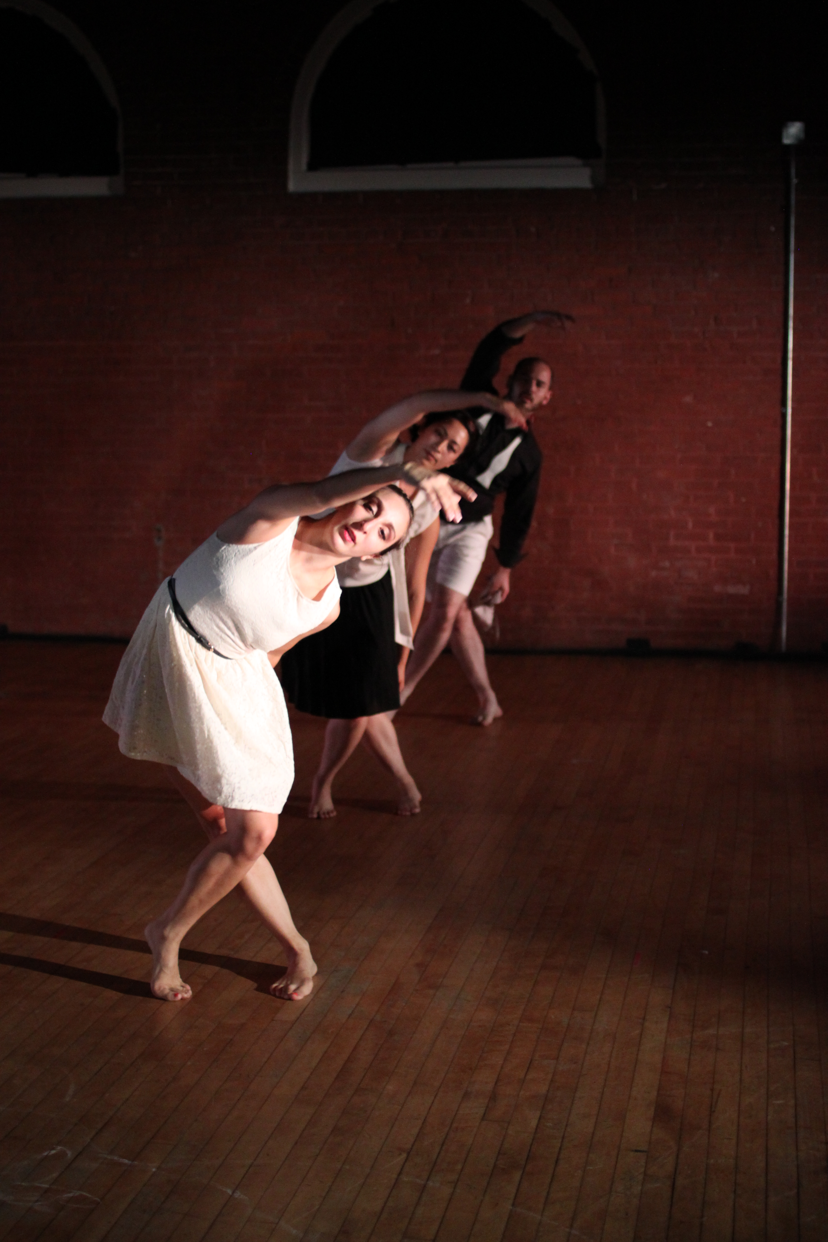 Photo: Ryan Carollo, Melenie Diarbekirian, Rose Abramoff, and Mark Kranz in A Secret in Three Phases