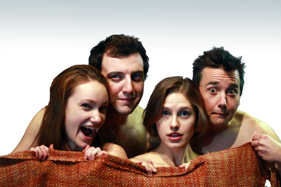 The Cast of Soul Mates (Laura Menzie, Joe Kidawksi, Angela Keefe and Brett Milanowksi.)