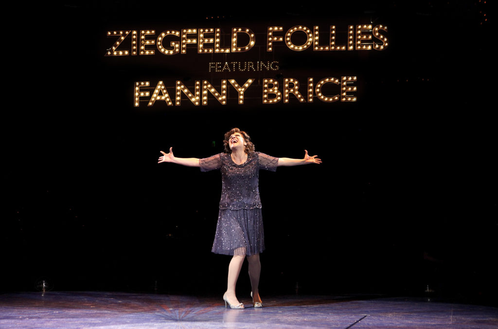 Shoshana Bean is Fanny Brice, Photo © Paul Lyden