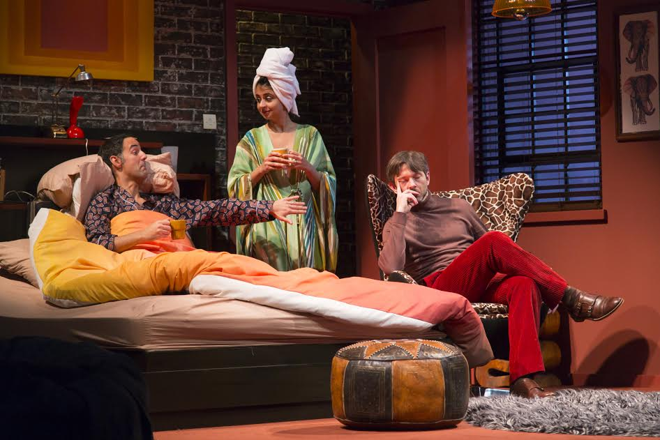Bedroom Farce HTC 11-16 130Bedroom Farce, by Alan Ayckbourn, directed by Mariah Aitken at Huntington Theatre Company 11/10/16Set Design: Alexander DodgeCostume Design: Robert MorganLighting Design: Matthew Richards© T Charles Erickson Photographytcepix@comcast.net