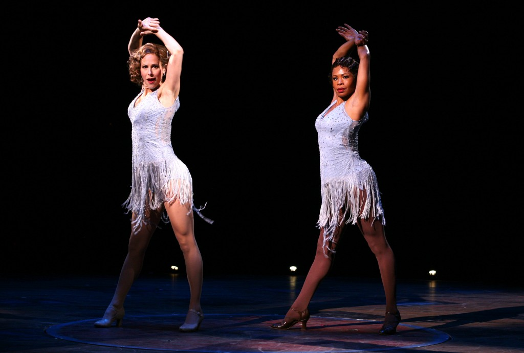 Heather Parcells (Roxie) and Bahiyah Hibah (Velma). Photo © Paul Lyden