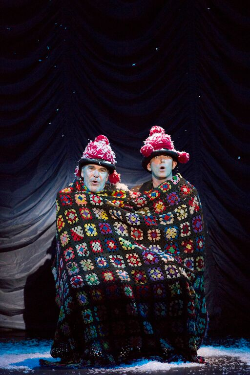 Mandy Patinkin and Taylor Mac. Photo by Gretjen Helene/A.R.T.