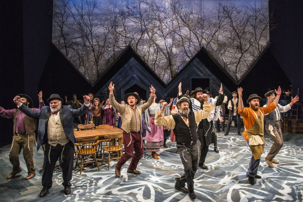 Photo by Andrew Brilliant / Brilliant Pictures; The cast of Fiddler on the Roof.